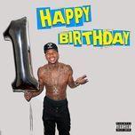 happy birthday (single)  - tyga