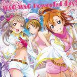 wao-wao powerful day! (single) - printemps