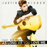 as long as you love me - justin bieber