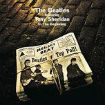 in the beginning - the beatles, tony sheridan