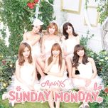 sunday monday (japanese single) - a pink
