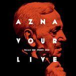 aznavour live - palais des sports 2015 - charles aznavour