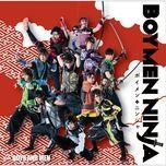 boymen ninja (type a) (single) - boys and men