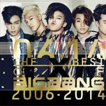 the best of bigbang 2006-2014 - bigbang