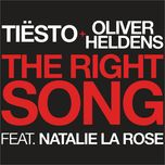 the right song (single)  - oliver heldens, tiesto