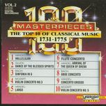 the top 100 masterpieces of classical music 1685-1928, vol.02 - 1731-1775 - v.a