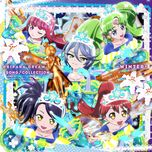 pripara dream song collection dx - winter - mitsuki saiga, chinatsu akasaki, kubota miyu