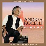 cinema (special edition) - andrea bocelli