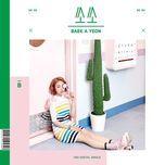 so-so (single) - baek ah yeon