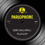 playlist - geri halliwell