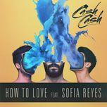 how to love (single) - cash cash, sofia reyes