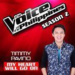 my heart will go on (single) - timmy pavino