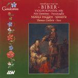biber: violin sonatas, 1681 - monica huggett, sonnerie, heinrich von biber