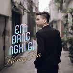 Em Đang Nghĩ Gì (Single)