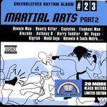 greensleeves rhythm album #23: martial arts part 2 - v.a