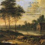 bach: sonatas for solo violin, nos. 1 - 2; partita no. 1 - jacqueline ross
