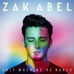 unstable (single) - zak abel