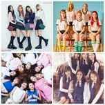 nhom tan binh nu k-pop noi bat 2016 - blackpink, twice, gfriend, red velvet