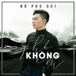 pho khong em (single) - do phu qui
