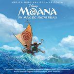 moana: un mar de aventuras (sonora original en espanol) - v.a