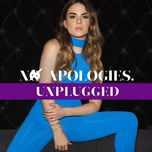 no apologies. (unplugged) (single) - jojo