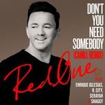 don't you need somebody (cahill remix) (single) - redone, enrique iglesias, r.city, shaggy, serayah