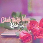 canh thiep hong bao tin - v.a