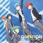 question (single) - 3-nen e-gumi utatan