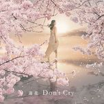 don't cry (single) - renka