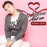 Valentine Nhớ Em (Single)