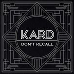 don't recall - k.a.r.d project vol.2 (single) - k.a.r.d