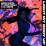 light my body up (single) - david guetta, nicki minaj, lil wayne