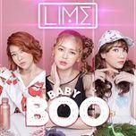baby boo (single) - lime