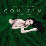 con tim yeu duoi (single) - thieu bao trang