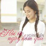 Hồi Ức Ngày Hôm Qua (Single)