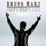 that's what i like (remix) (single) - bruno mars, gucci mane