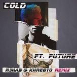 cold (r3hab & khrebto remix) (single) - maroon 5