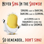 sing in the shower - v.a