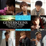 never let you go (single) - generations