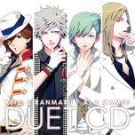 uta no prince-sama idol song ranmaru & camus - tatsuhisa suzuki, tomoaki maeno