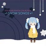 vocaloid season collection - snow songs  - hatsune miku