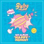 happy moment - wjsn (cosmic girls)