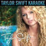 taylor swift (karaoke version) - taylor swift