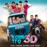 xom tro 3d ost - bach cong khanh, nam cuong, maya