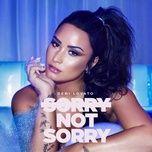 sorry not sorry (single) - demi lovato