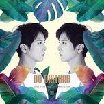 do disturb (1st mini album) - yong hwa (cnblue)