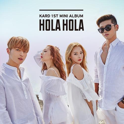 Album Hola Hola (Mini Album) - K.A.R.D