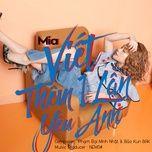 viet them mot lan yeu anh (single) - mia