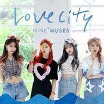 muses diary part 3: love city (mini album) - nine muses
