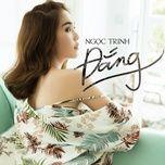 dang (single) - ngoc trinh